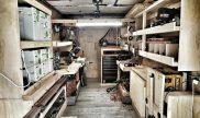 Solar powered woodshop