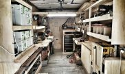 Solar powered woodshop